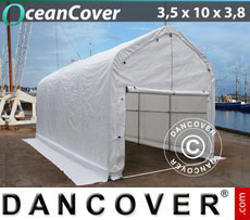 Boat shelter 3.5x10x3x3.8 m