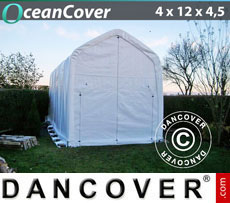 Boat shelter 4x12x3.5x4.5 m