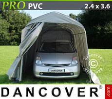 Portable Garage PRO 2.4x3.6x2.4 m PVC, Green