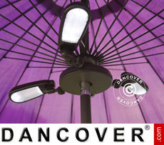 Parasol light Luxor, 30 LEDs