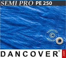 Tarpaulin 6x10 m PE 250 g/m² Blue