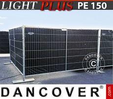 Fence tarpaulin 1.8x3.4 m PE 150 g/m² Black