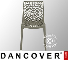 Chair, Gruvyer, Pearl Grey, 6 pcs.
