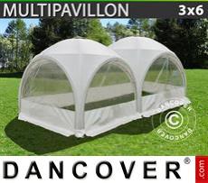 Marquee Multipavillon 3x6 m, White