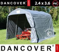 Storage tent PRO 2.4x3.6x2.34 m PVC, Grey