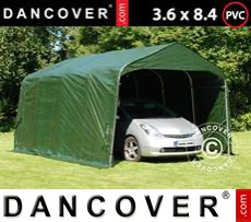 Portable Garage PRO 3.6x4.8x2.7 m, PVC, Green