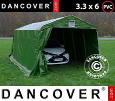Portable Garage PRO 3.3x6x2.4 m PVC, Green