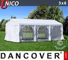 Marquee UNICO 3x6 m, White