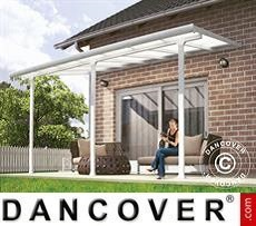 Patio Cover Feria 3x4.25 m, White