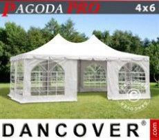 Marquee Pagoda PRO 4x6 m, PVC