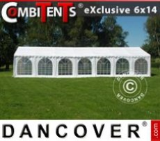 Marquee Exclusive CombiTents® 6x14m 5-in-1, White