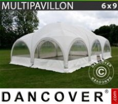 Marquee 6x9 m, White