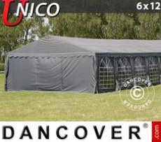 Marquee UNICO 6x12 m, Dark Grey