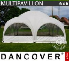 Marquee 6x6 m, White
