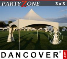 Marquee Pagoda PartyZone 3x3 m PVC