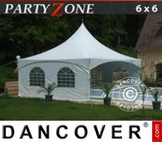 Marquee Pagoda PartyZone 6x6 m PVC