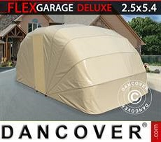Car Cover Folding garage (Car), 2.5x5.4x2 m, Beige