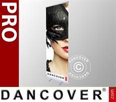 Logo Print Branding Roller banner PRO 100x200 cm, single sided