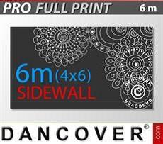 Logo Print Branding Printed sidewall 6 m for FleXtents PRO 4x6 m