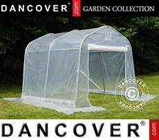 Polytunnel greenhouse, 2,4x2,4x2m, PE, Transparent