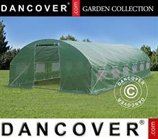 Polytunnel Greenhouse 4x8x2 m, Green