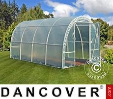 Polytunnel Greenhouse 2,2x4x1,9 m, Transparent