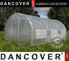 Polytunnel Greenhouse 4x4x2 m, Transparent