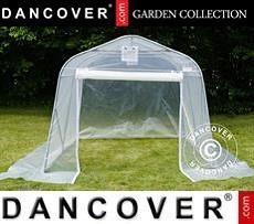 Polytunnel greenhouse, 2,4x3,6x2,4m, PE, Transparent