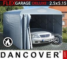 Portable Garage Folding tunnel garage (Car), 2.5x5.15x2.15 m, Grey