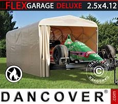 Portable Garage Folding tunnel garage (Car), 2.5x4.12x2.15 m, Beige
