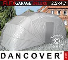 Portable Garage Folding garage (Car), 2.5x4.7x2 m, Grey