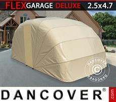 Portable Garage Folding garage (Car), 2.5x4.7x2 m, Beige