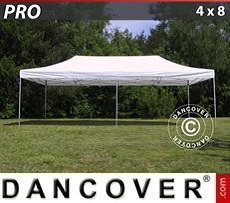 Racing tents Pop up gazebo FleXtents PRO 4x8 m White