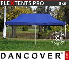 Racing tents Pop up gazebo FleXtents PRO 3x6 m Dark blue
