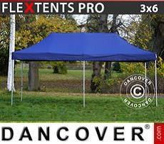 Racing tents Pop up gazebo FleXtents PRO 3x6 m Dark blue