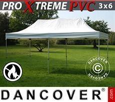 Racing tents Pop up Gazebo FleXtents Xtreme Heavy Duty 3x6 m, White