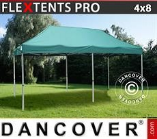 Racing tents Pop up gazebo FleXtents PRO 4x8 m Green