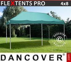 Racing tents Pop up gazebo FleXtents PRO 4x8 m Green