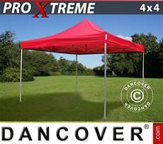 Racing tents Pop up gazebo FleXtents Xtreme 4x4 m Red