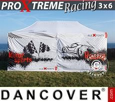 Racing tents Pop up gazebo FleXtents PRO Xtreme Racing 3x6 m, Limited edition