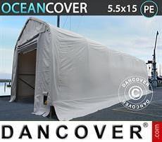 Storage tent Oceancover 5.5x15x4.1x5.3 m