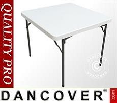 Banquet table 88x88x74 cm, Light grey (1 pcs.)