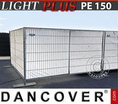 Tarpaulin Fence tarpaulin 1,76x3,41 m PE 150 g/m² White