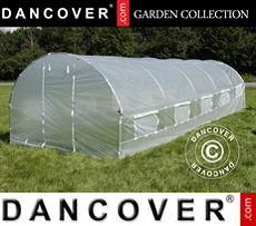 Polytunnel Greenhouse 4x6.6x2 m, 26.4 m², Transparent