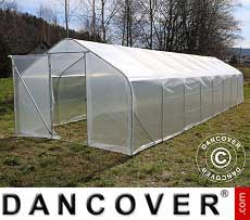 Polytunnel Greenhouse SEMI PRO 4x6.25x2.40 m