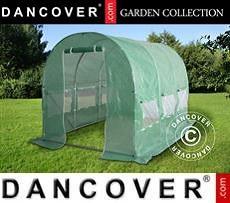Polytunnel Greenhouse 2x4.5x2 m, 9 m², Green