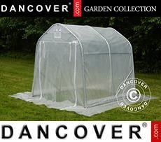 Polytunnel Greenhouse, 2x2x2 m, PE, 4 m², Transparent