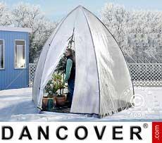 Winter Protection Plant Tent, Tropical Island XL, Ø3.4x2.8 m