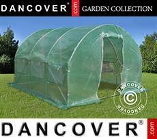Polytunnel Greenhouse 3x3x2 m, 9 m², Green