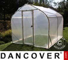 Polytunnel Greenhouse SEMI PRO 2x7.5x2 m